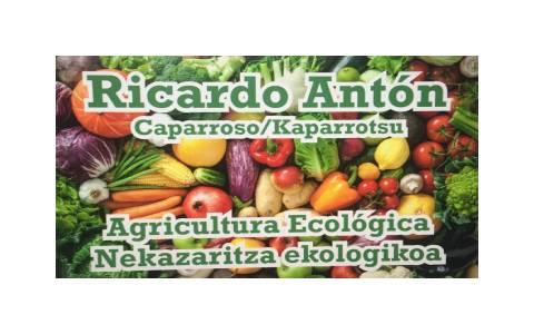 Ricardo Antón, horticultor ecológico